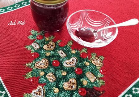 Chutney rosso natalizio