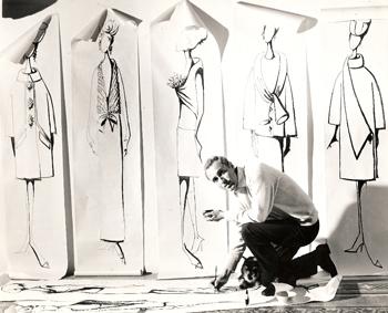 Celeblueation. Renato Balestra in mostra | Aida Mele Magazine