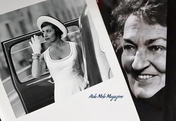 Franca Valeri e Suso Cecchi D'Amico | Aida Mele Magazine