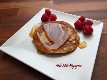 Pancakes di banana | Aida Mele Magazine