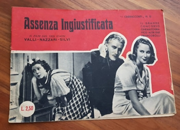 Alida Valli e Amedeo Nazzari: tanti film insieme